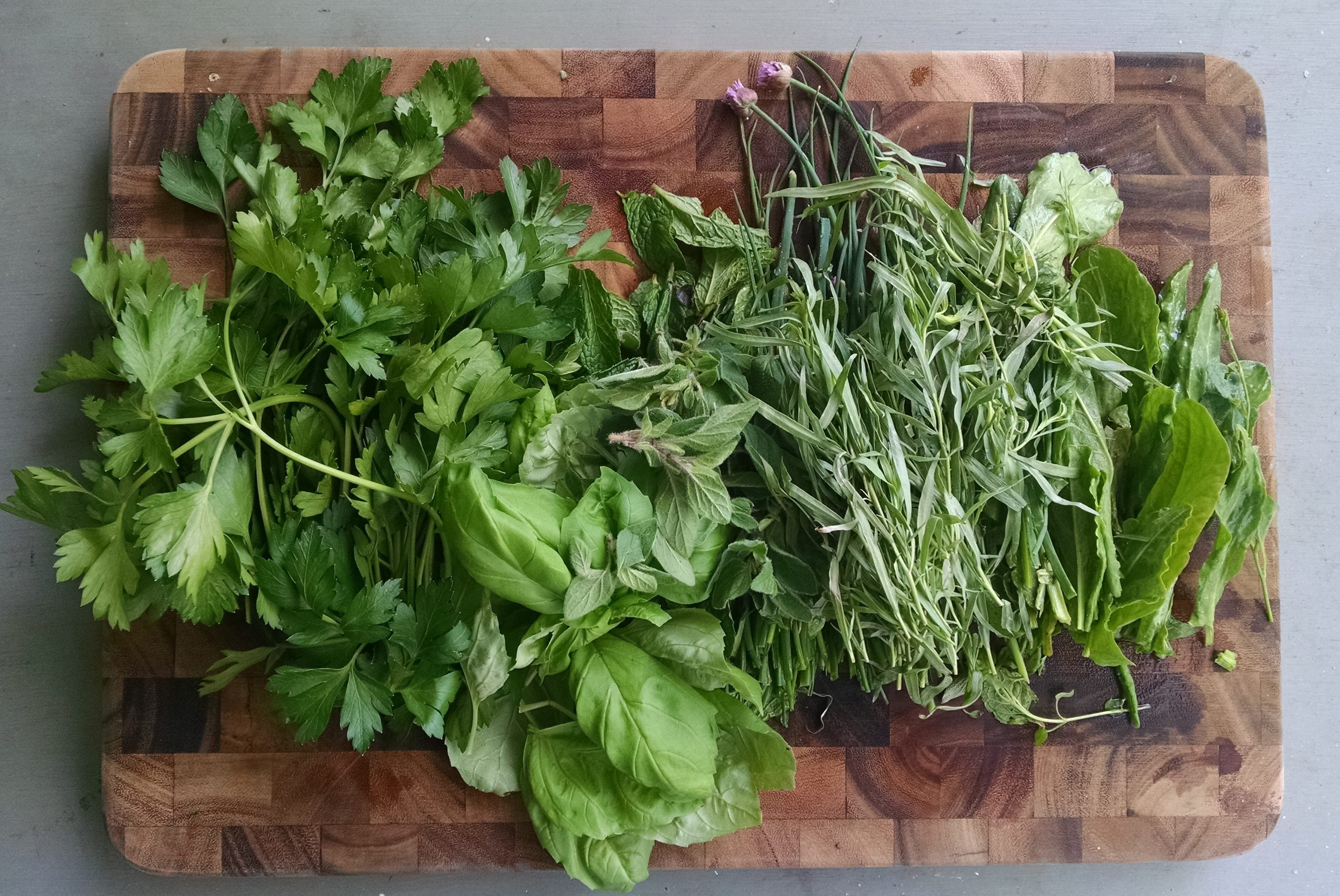 Spring herb solution: Virginia Green Sauce