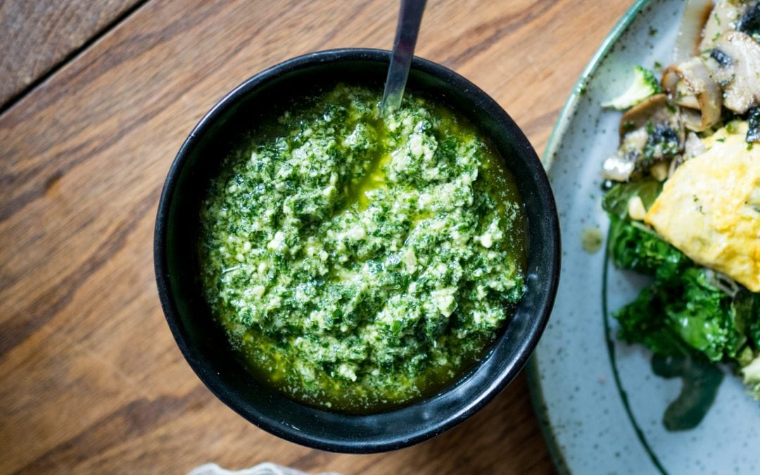 Parsley Pepita Pesto (with variations!)