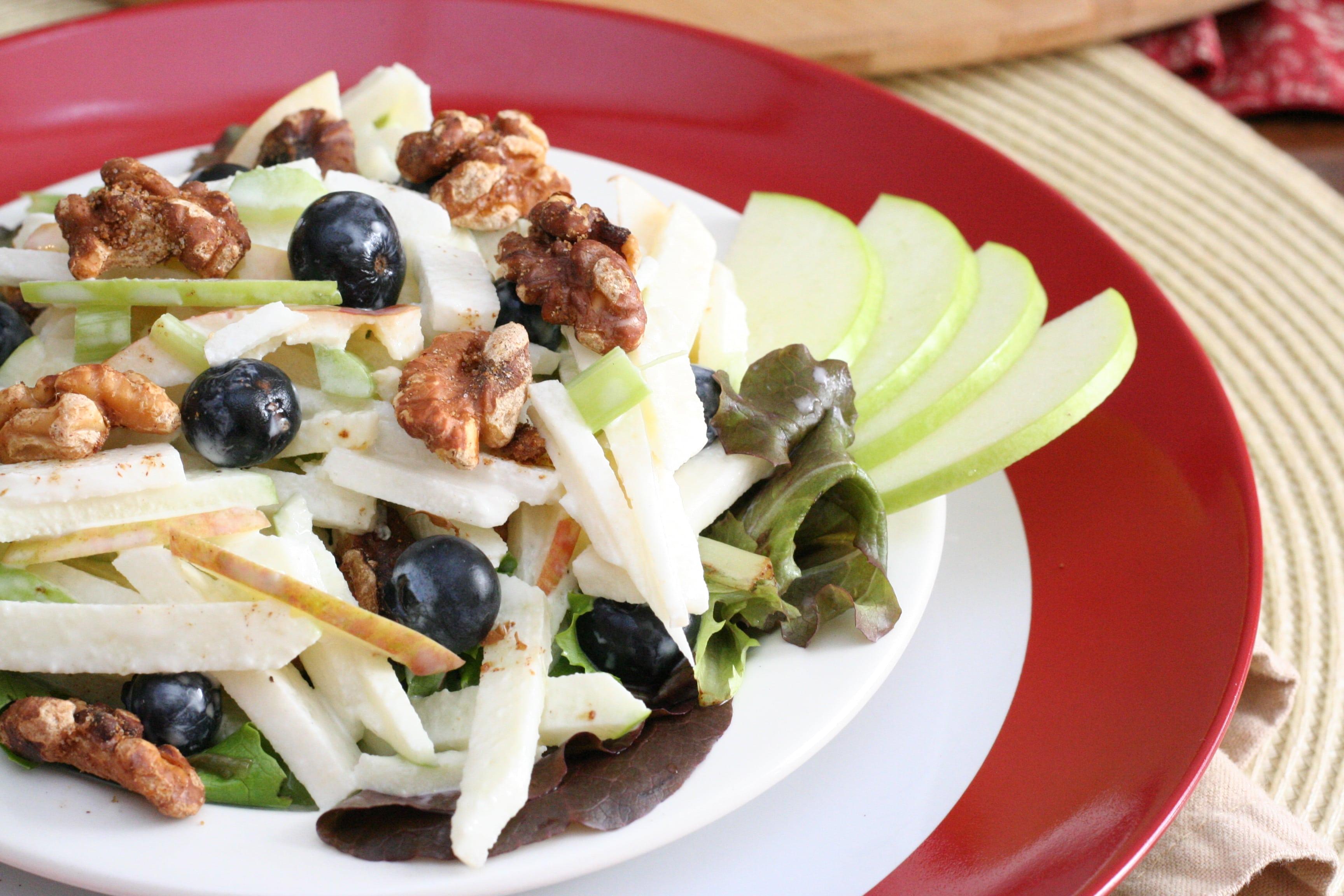 The Blue Waldorf  – a salad with an elegant twist