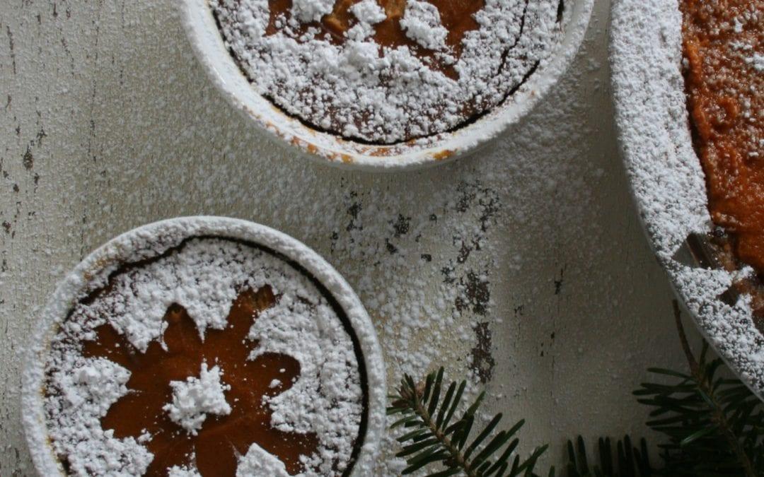 Walnut Cream Pumpkin Pie