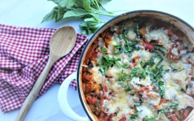 One Pot No-Boil Pasta Bake